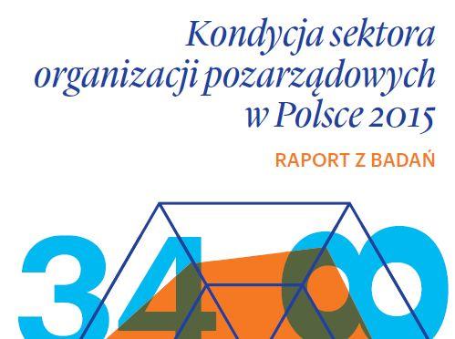 Kondycja sektora organizacji pozarządowych 2015. Raport z badań Stowarzyszenia Klon/Jawor