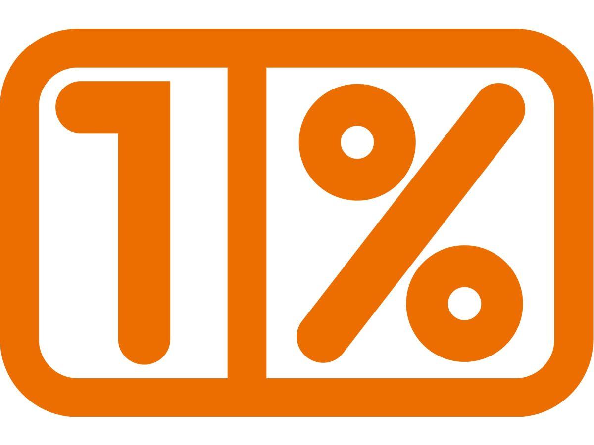 Znalezione obrazy dla zapytania 1%